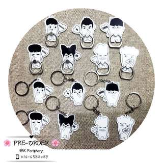 [PO] BTS Hip Hop Monster Figure Iring / Keychain