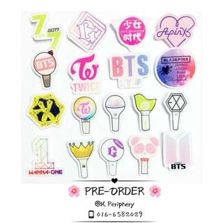 [PO] Kpop Group Logo Pin Badge