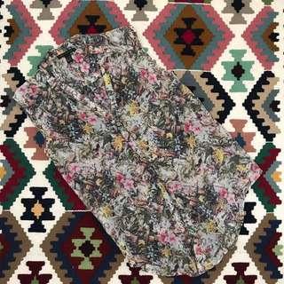 MANGO Floral Top