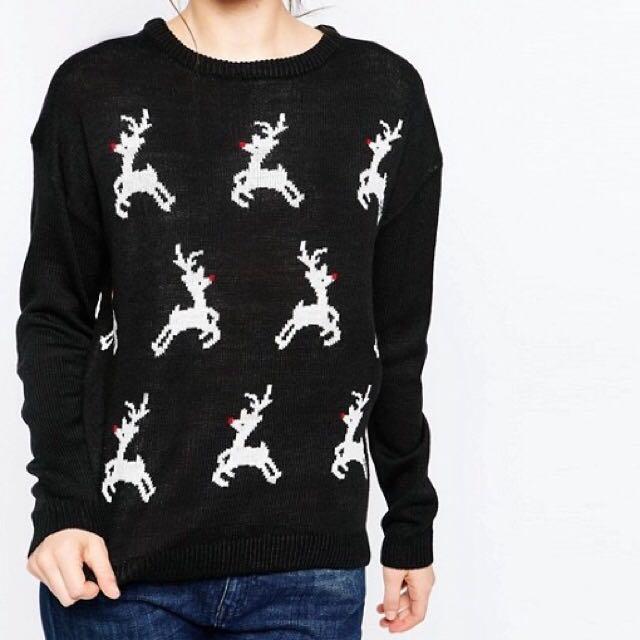 1111購物節 ASOS網站購買聖誕麋鹿毛衣 聖誕禮物 交換禮物