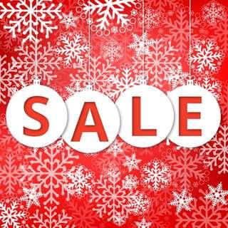 Christmas sales  🎄🎄