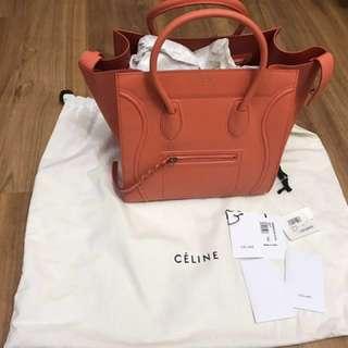 New 全新 Authentic Celine luggage phantom medium