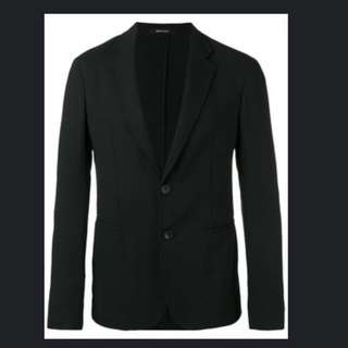 💯Authentic GIORGIO ARMANI  slim-fit blazer