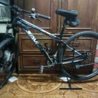 Bike for sale   Sava ares a1 29ers All alloy Front and back disc break With tolls, bottle holder and seat cover With 3 extra exterior tires.
