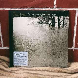 For Emma, Forever Ago by Bon Iver LP Plaka Vinyl Record CD
