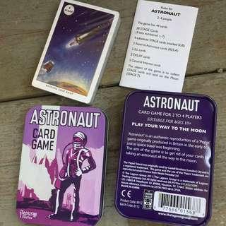 Astronaut card game