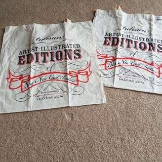 www.tulisan.com Square Cloth Bag