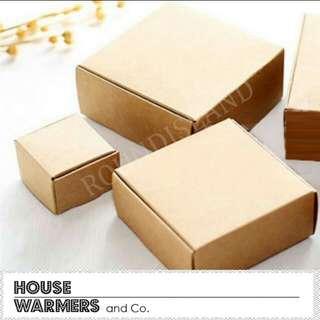 Kraft boxes small