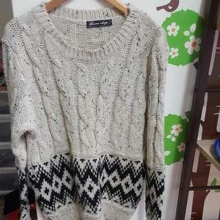 Queen Shop毛衣。