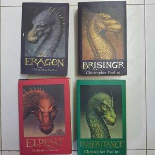 Eragon series by christopher paolini