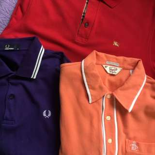 Fred perry, Penguin, Burberry