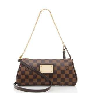Louis Vuitton Damier Ebene Eva Cluth / Sling