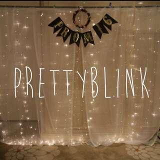 [RENTAL] Fairylight Backdrop/ Pbotobooth✨💕🎉