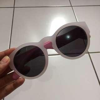 Kacamata pink&white