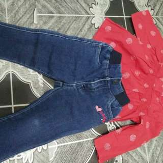 Set jeans n blouse