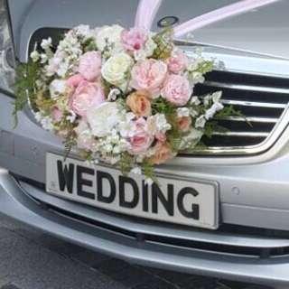 租車WEDDING車牌 Benz結婚婚禮花車出租連司機服務/接送服務