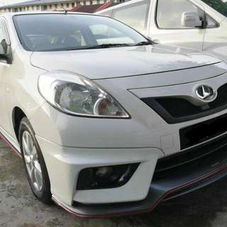 NISSAN ALMERA 1.5 AT E SPEC 2014TH