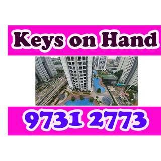 Studio for Rent Hillion Residences (Above Bt Panjang MRT)