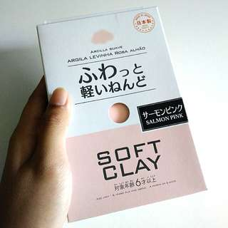 Pink daiso soft clay