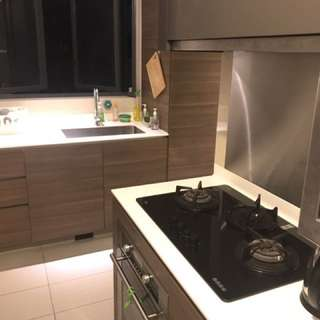 Condo room for rent with attached toilet