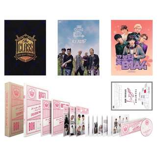 B1A4 & TEEN TOP DVDs