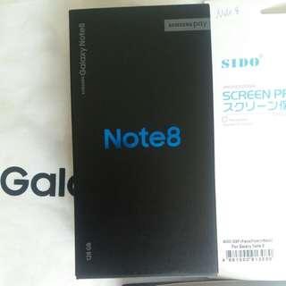 全新 有單Galaxy Note 8 128gb