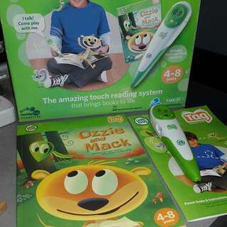 YEAR END SALE; Leapfrog TAG Reading System
