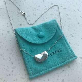 Tiffany bean sliver necklace