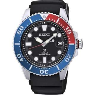 Seiko Prospex SNE439P1 Solar Powered 200m Diver's Watch