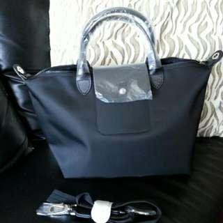 Longchamp 黑色兩用袋