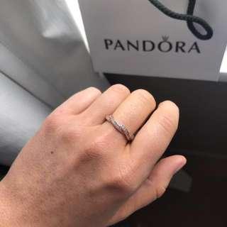 PANDORA Rose Braided Ring