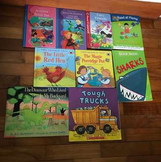 Pre-loved Children's Storybooks
