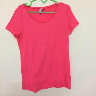 H&M Shirt Pink M