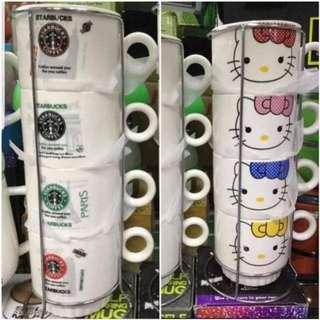 Ceramic mug 4 in 1