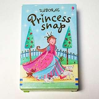 Usborne Card Game : Princess Snap Game