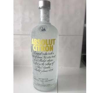 Vodka Absolut Citron 1 litre