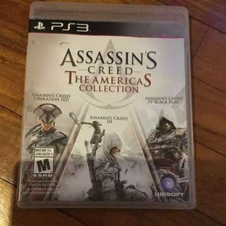 Ps3 Asaasin Creed The Americas Collection