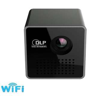 11.11. 🔥P1+ WIFI Wireless Pocket LED Pico DLP Mini Projector,Smart Micro Miracast DLNA Airplay Video Projector with Battery