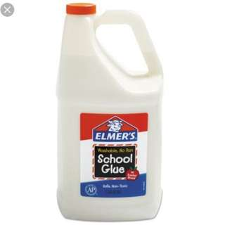 Elmers school glue gallon(instock currently )