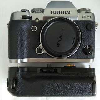 X-T1 graphite & vertical battery grip fujifilm