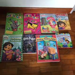Children/Kid's Storybooks / Activity books