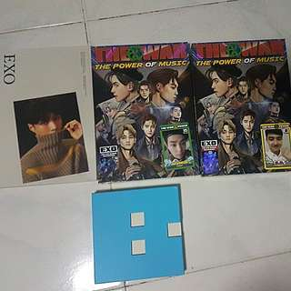 EXO ALBUMS + misc for sale!! #1212YES