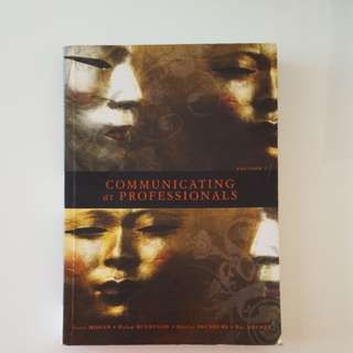 Communicating as Professionals textbook edition 2