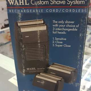 WAHL CUSTOM SHAVE SYSTEM