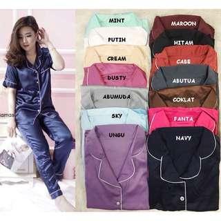 Piyama pajamas bahan soft