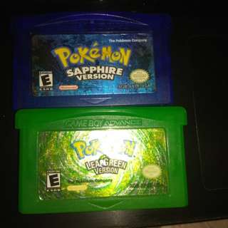 Pokemon cartridges