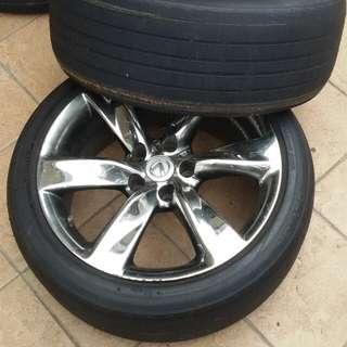 Lexus Rims 17 Inch