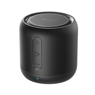 SoundCore mini, Super-Portable Bluetooth Speaker with 15-Hour Playtime, 66-Foot Bluetooth Range, Enhanced Bass Microphone
