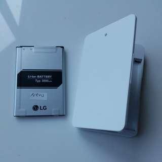 LG G4 原廠 充電池 充電座