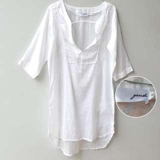 Gaudi Transparant Summer blouse